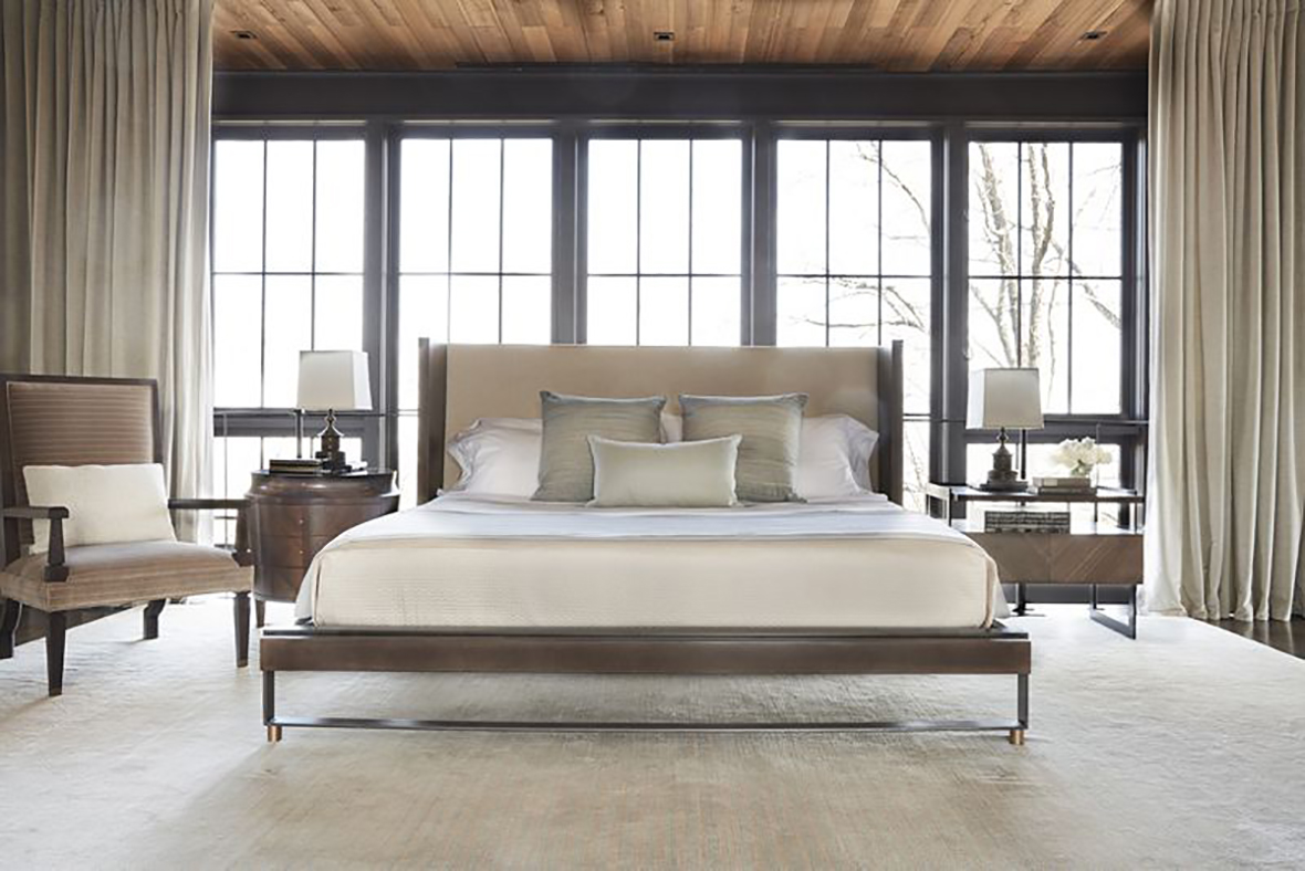 Shelter Platform Bed by Ray Booth for Hickory Chair