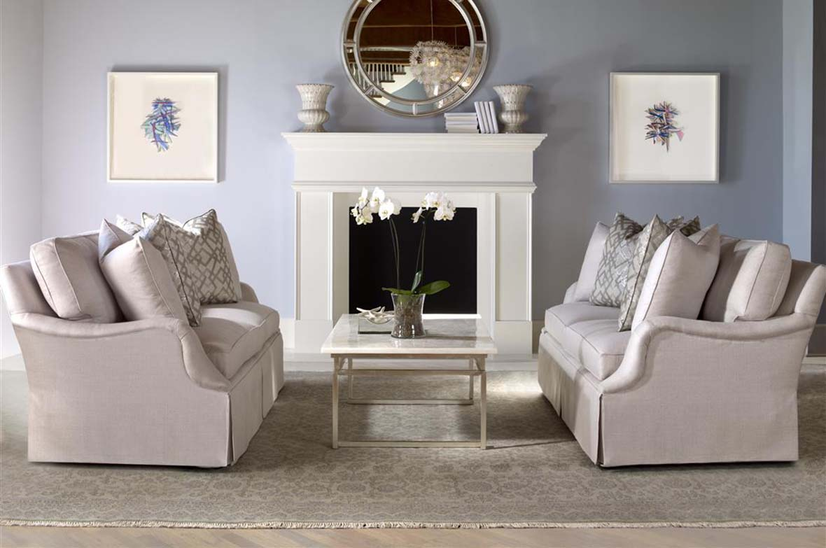 Profile Sofas with Coffee Table by Highland House