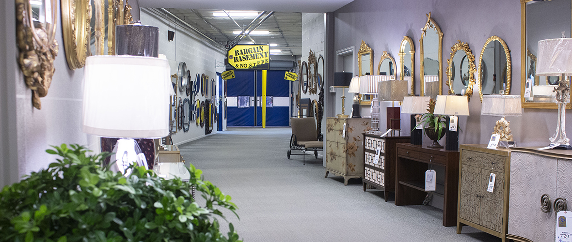Sedlak Interiors Clearance Furniture Section - The Bargain Basement