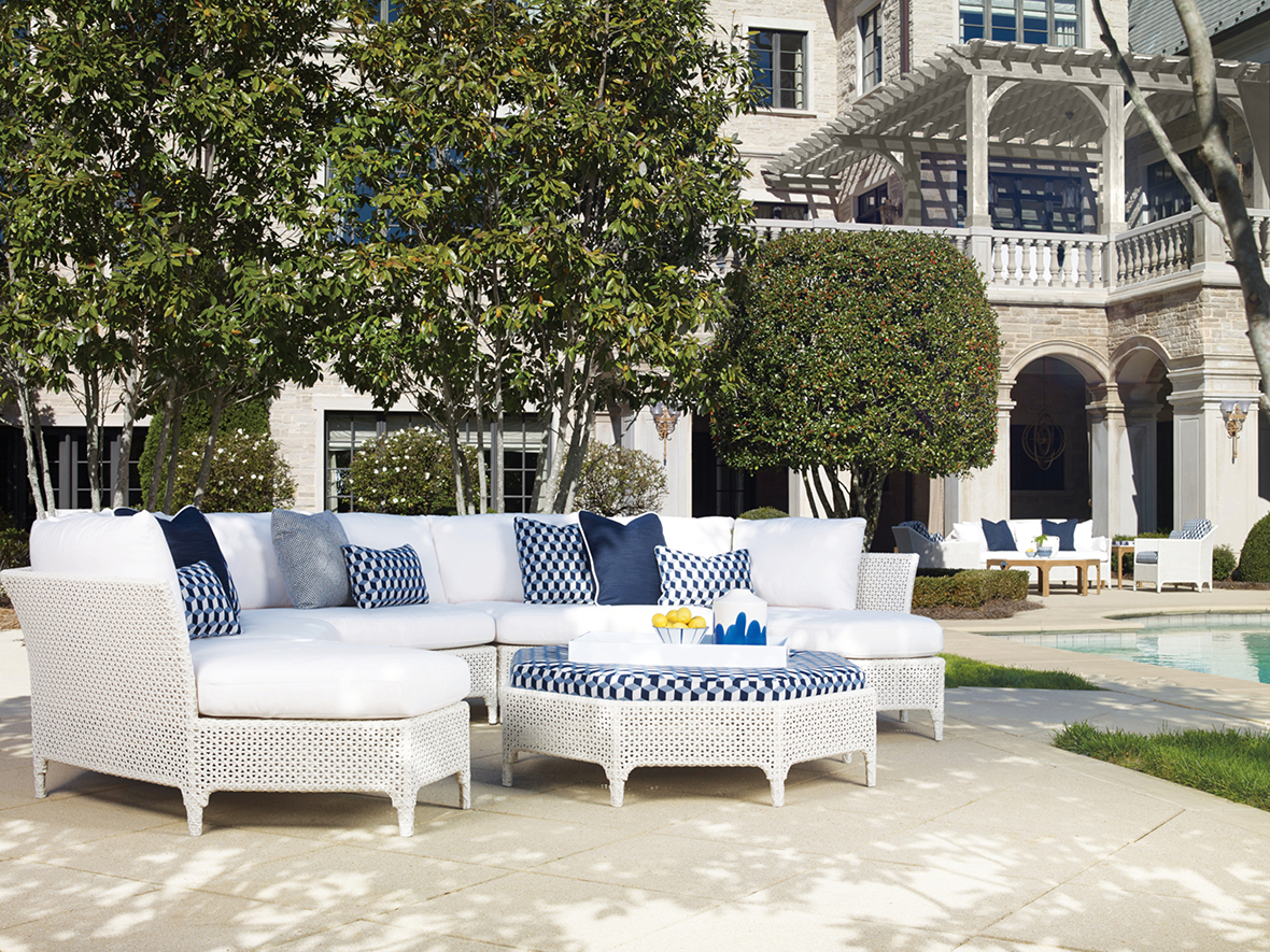 Tangier Outdoor Sectional by Century Furniture