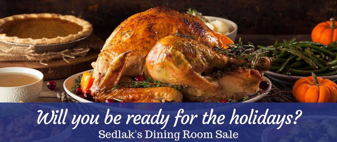 All Dining Room Furniture Is On Sale Now At Sedlak Interiors!