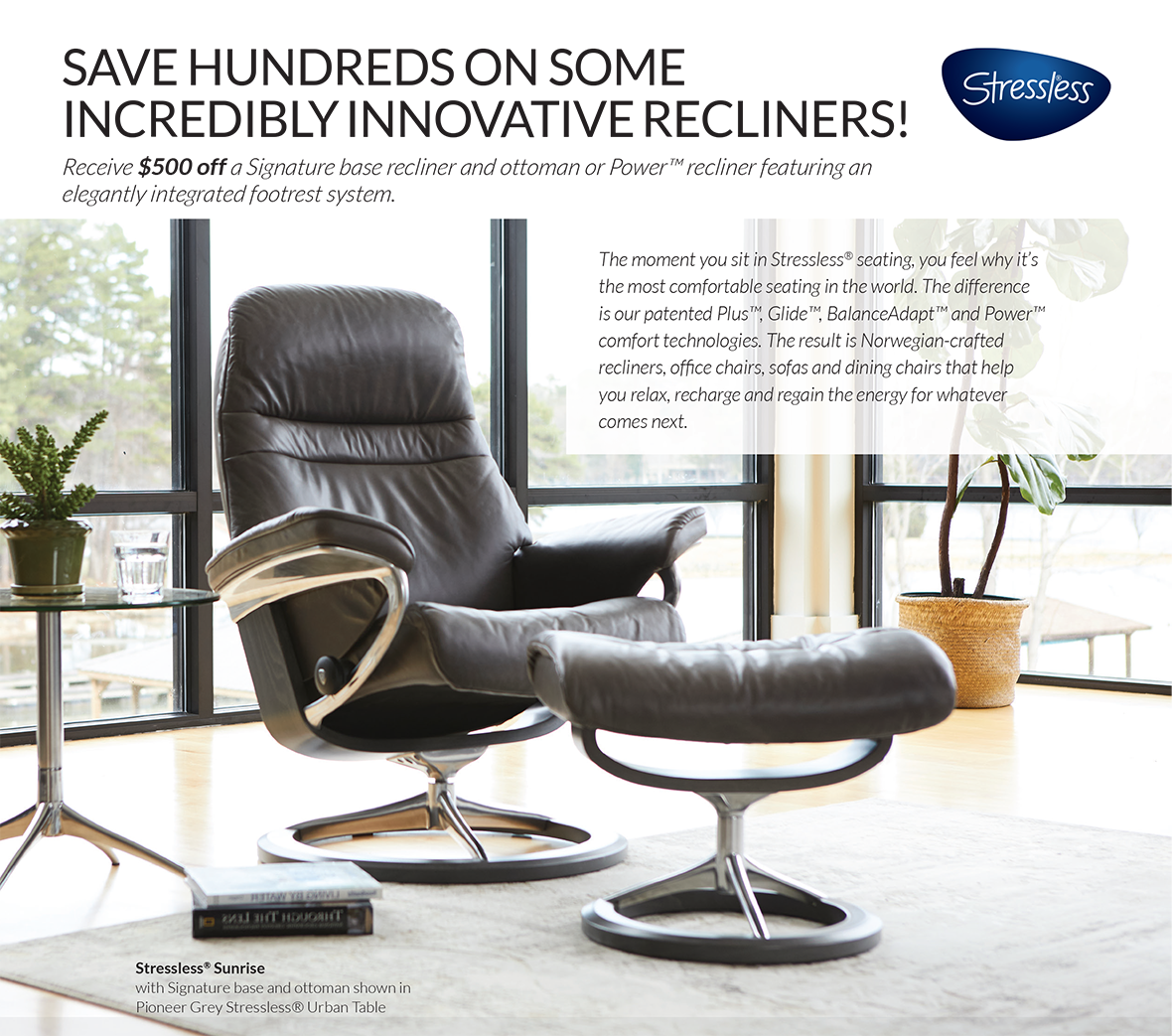 Stressless Recliners Spring Sale