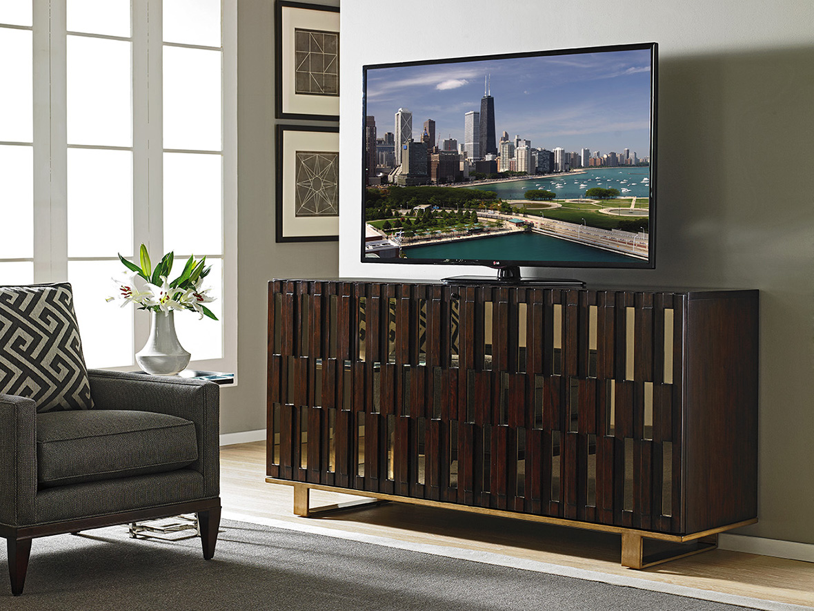 Studio Designs Quantum Media Console by Sligh