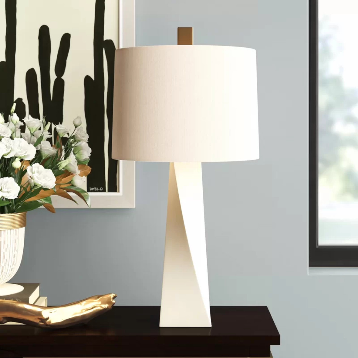 Twist and Shout Table Lamp