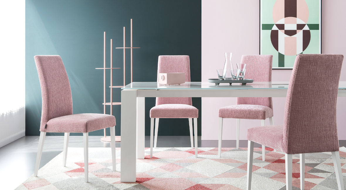 Calligaris Aida Dining Table Chairs