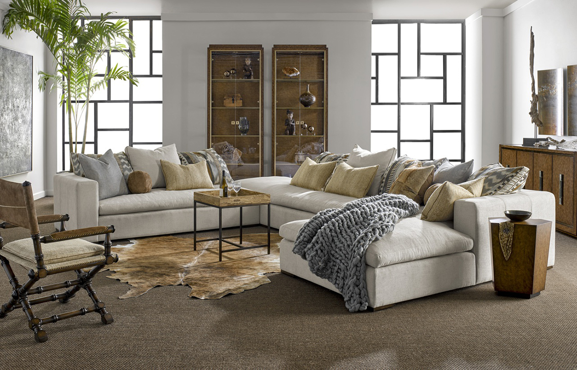 Marge Carson Sectional Sofa