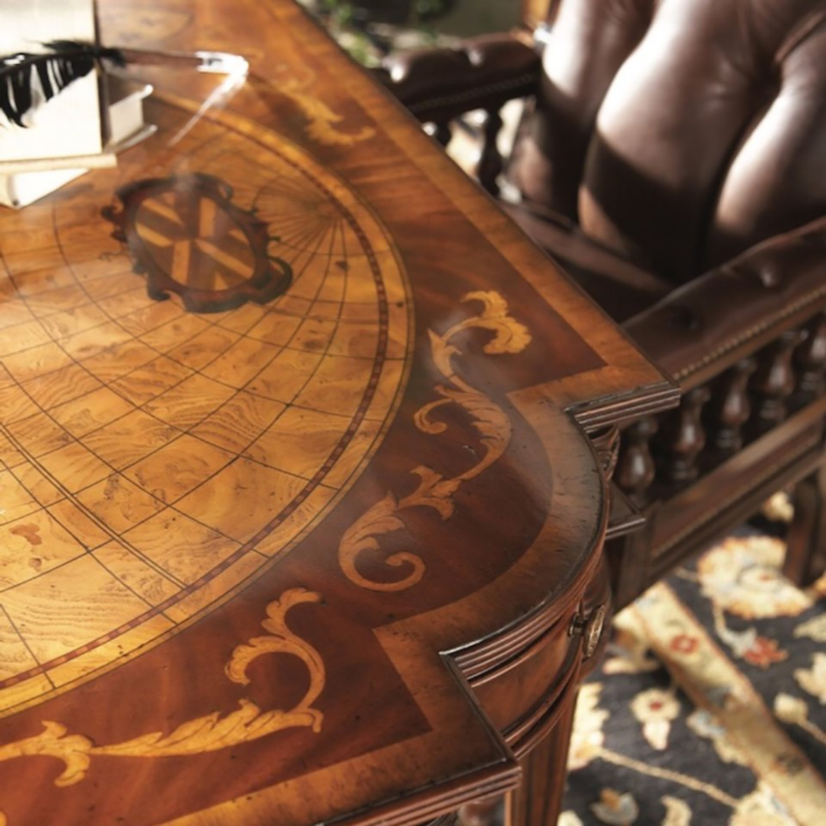 Map Writing Desk