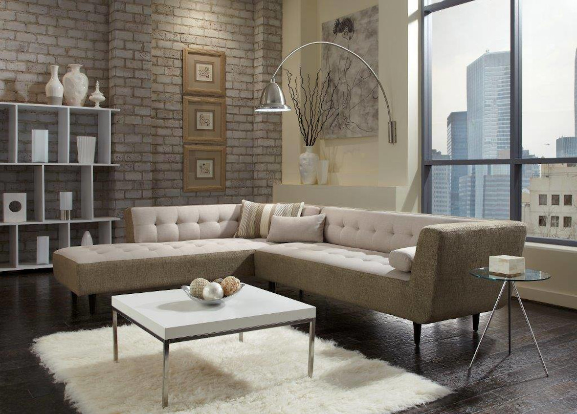 Comodo 2pc Sectional by Lazar Industries