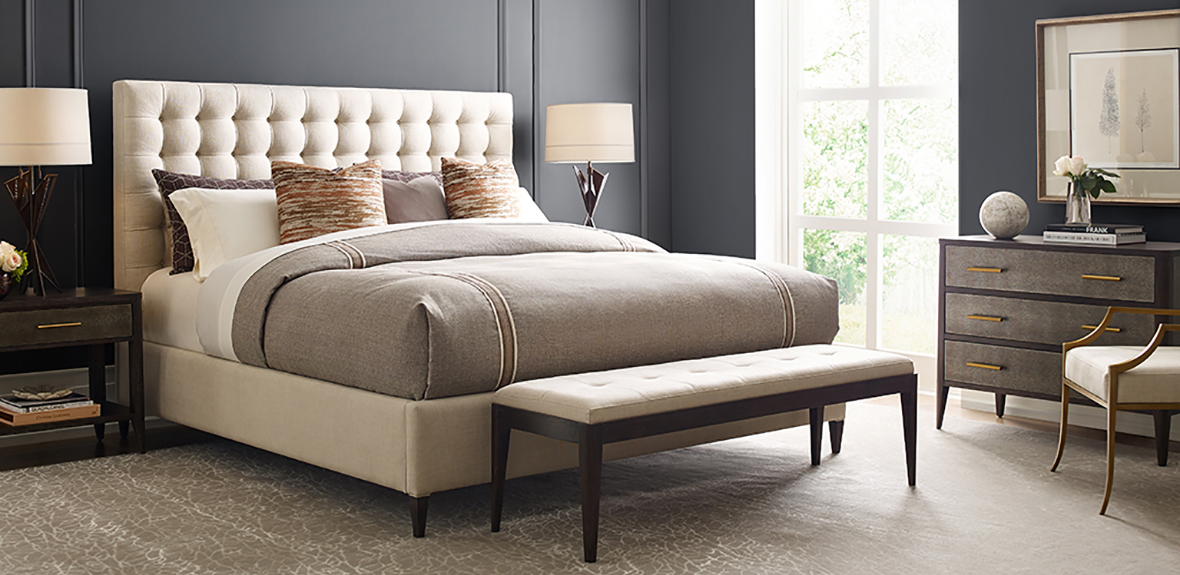 Theodore Alexander Upholstered Bed